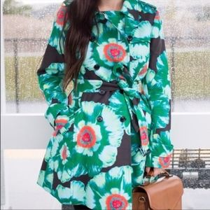 Banana Republic | Floral Print Trench Coat